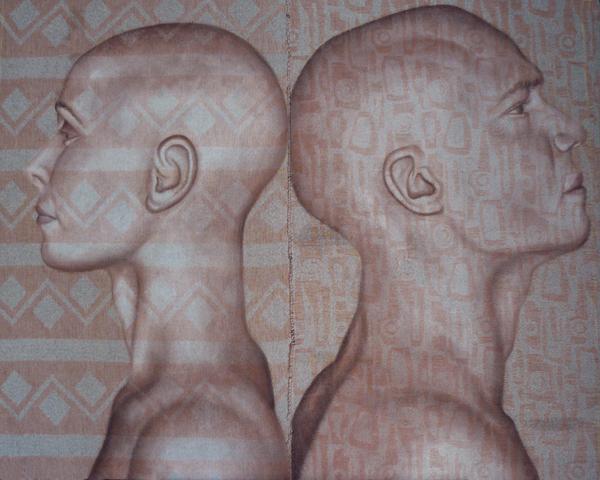 s_t, acrilico su tessuto cucito, 80x100,2009